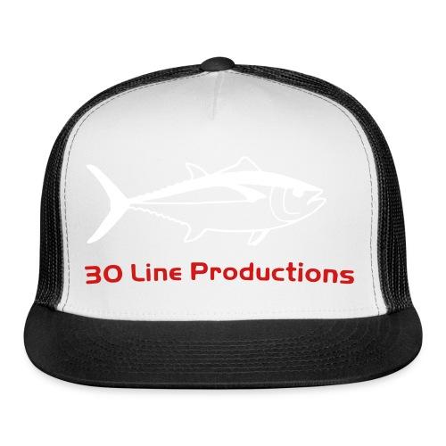 30 Line Hat Charcoal - Trucker Cap