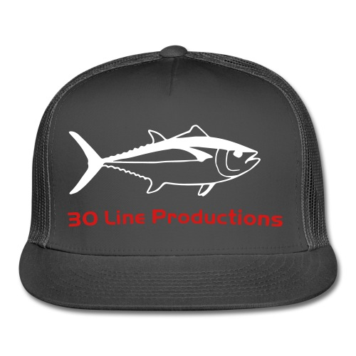 30 Line Hat Charcoal - Trucker Cap