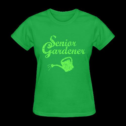 Senior Gardener T-Shirt - Women's T-Shirt
