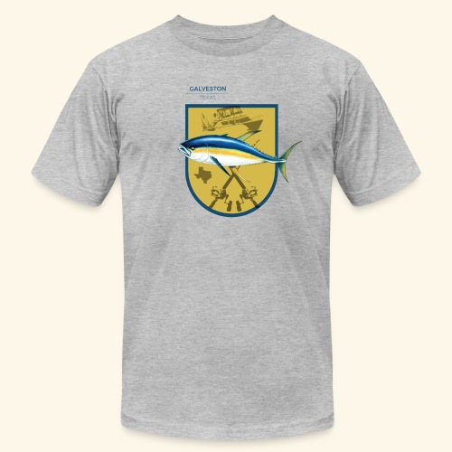 Hookat Texas Tuna - Men's Fine Jersey T-Shirt