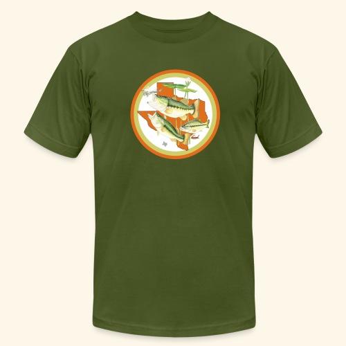 Hookat Texas Bass! - Men's  Jersey T-Shirt