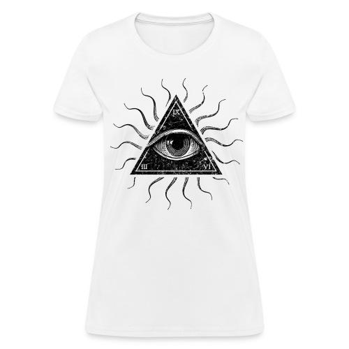 All-Seeing Eye - Women's T-Shirt