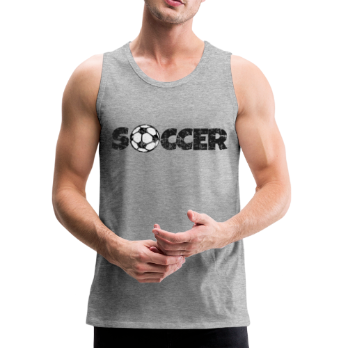SOCCER Football Design Black&White