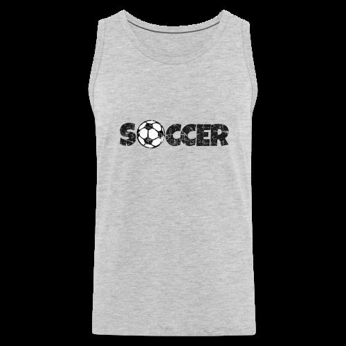 SOCCER Football Design Black&White
