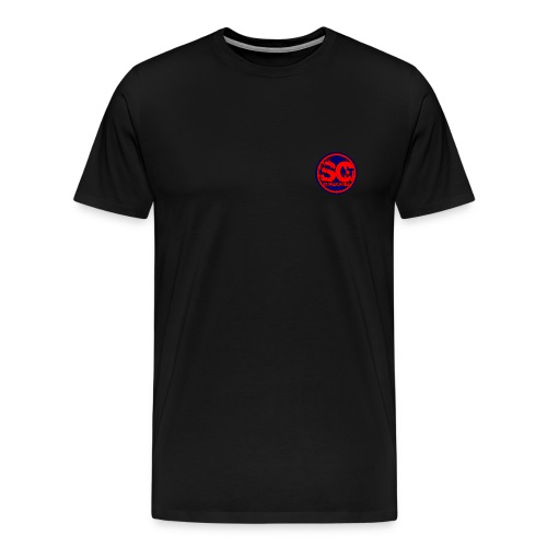 T-shirt m. logo black - Men's Premium T-Shirt
