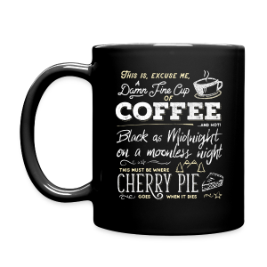 Damn Fine Coffee quotes - Full Color Mug