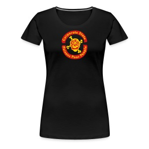 Corporate State Poisons Poor People - Women's Premium T-Shirt