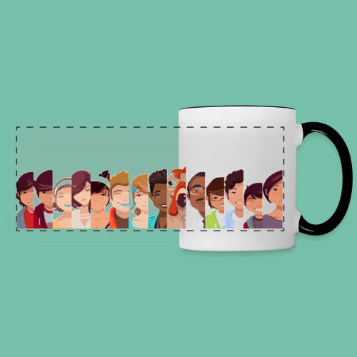 Longstory Cast Panoramic Coffee Mug - Panoramic Mug