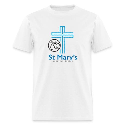 150th White T-Shirt (men) - Men's T-Shirt