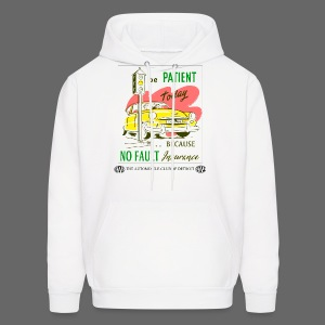 No Fault in Michigan - Men's Hoodie