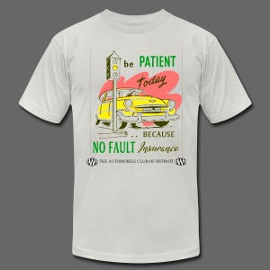No Fault in Michigan - Men's T-Shirt by American Apparel