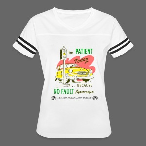 No Fault in Michigan - Women's Vintage Sport T-Shirt