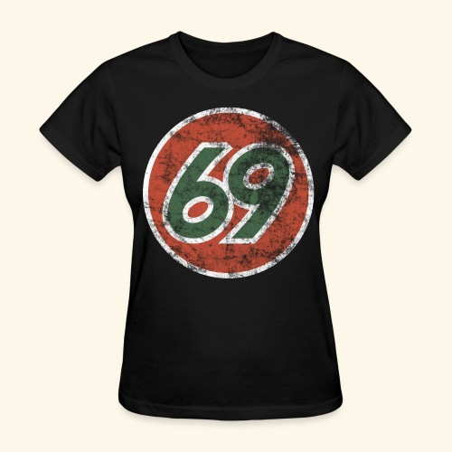 Vintage 69 Logo - Black - Women's T-Shirt