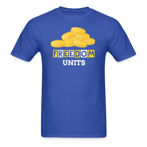 #FREDDOMUNITS #120DREAMS - Men's T-Shirt