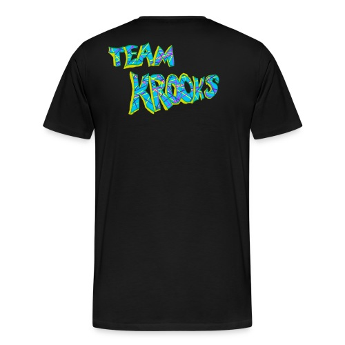 Krooked Face Team Krooks - Men's Premium T-Shirt