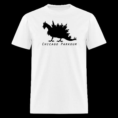 Stegocobo Big (Black) - Men's T-Shirt