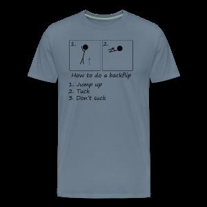 How to - Men's Premium T-Shirt