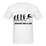 T-Shirts ~ Men's T-Shirt ~ EVOLUTION OF PARKOUR MEN''S T-SHIRT