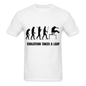 EVOLUTION OF PARKOUR MEN''S T-SHIRT  - Men's T-Shirt
