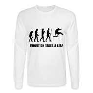 Long Sleeve Shirts ~ Men's Long Sleeve T-Shirt ~ PARKOUR EVOLUTION LONG SLEEVE