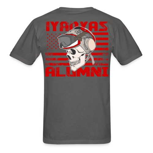 IYAOYAS Alumni Flight Deck Skull - Men's T-Shirt