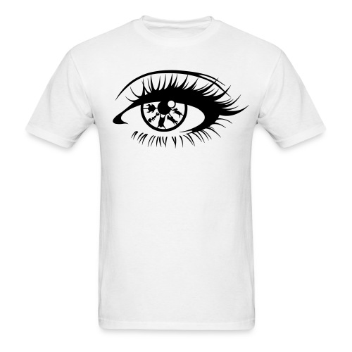 Eye For An Eye Mens White - Men's T-Shirt