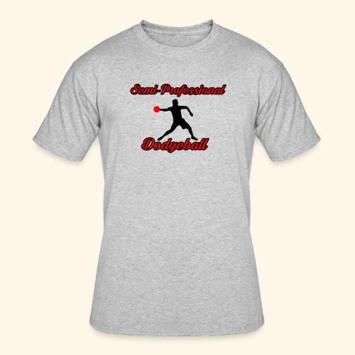 Semi Professional Dodgeball - Men's 50/50 T-Shirt