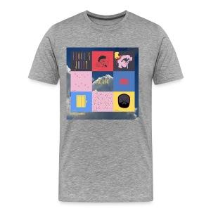 Floco Torres - Again Gray - Men's Premium T-Shirt