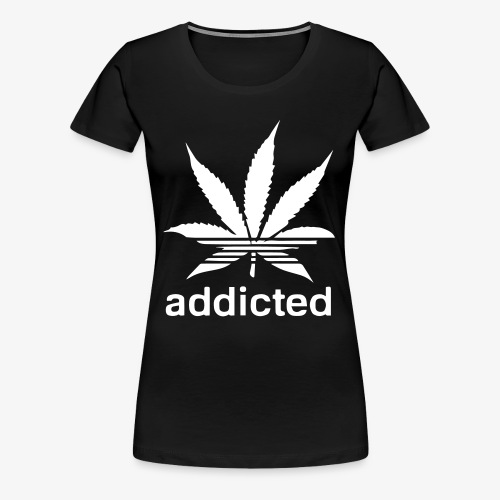 Addicted - Women's Premium T-Shirt