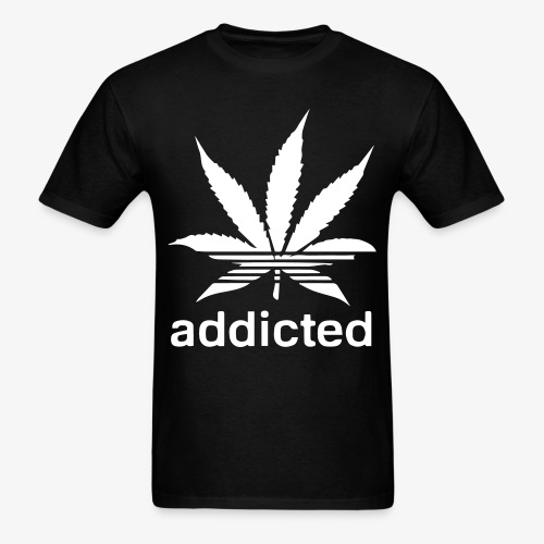 Addicted - Men's T-Shirt