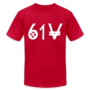 Music City (Red)  - Men's T-Shirt by American Apparel