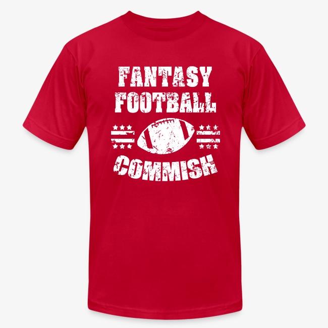 42dc295d Worksaheart | Fantasy Football Commish funny mens shirt - Mens ...