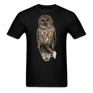 Barred Owl 8630_for Black - Men's T-Shirt