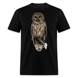 Barred Owl 8630_for Black - Men's T-Shirt
