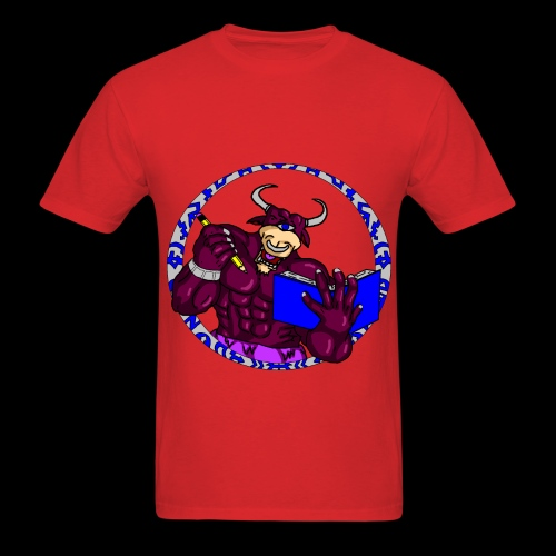 Armed to the Brain (Red) - Men's T-Shirt