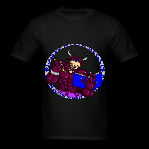 Armed to the Brain (Black Special Shirt) - Men's T-Shirt