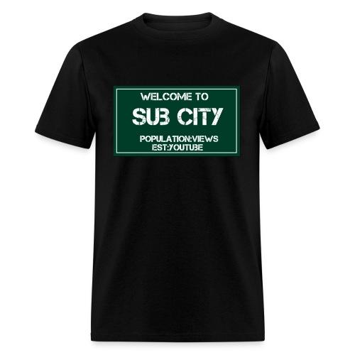 sub city - Men's T-Shirt