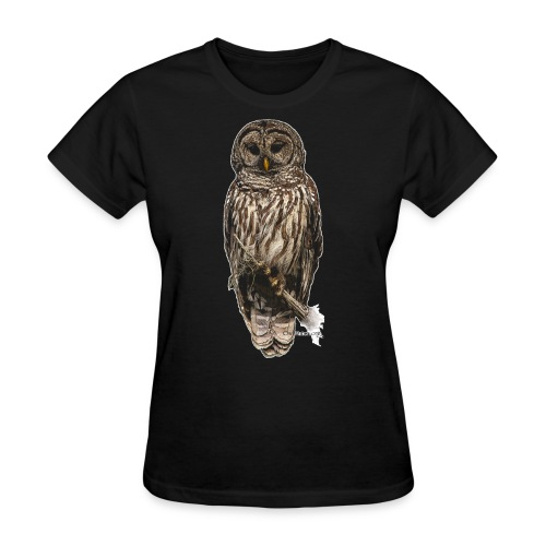 Barred Owl 8630_for Black - Women's T-Shirt