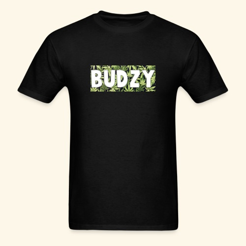 Black Budzy Box Logo Short Sleeve Tee - Men's T-Shirt