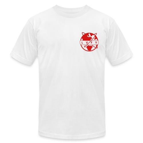 MENS LVFY - RED - Men's Fine Jersey T-Shirt