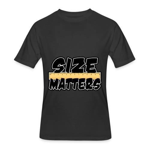size matters - Men's 50/50 T-Shirt