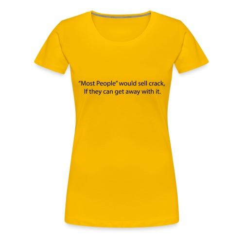 Most People - Women's Premium T-Shirt
