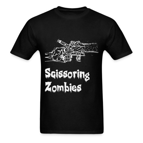 Scissoring Zombies - Men's T-Shirt