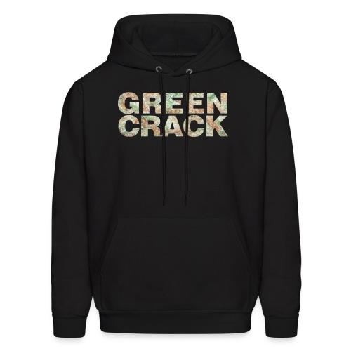 GREEN CRACK HOODIE - Men's Hoodie