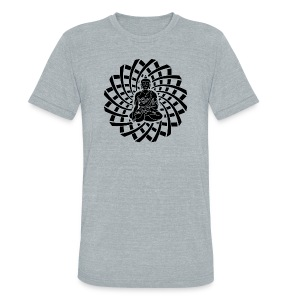 Shakyamuni Buddha Black - Unisex Tri-Blend T-Shirt