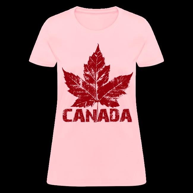 Cool Canada Souvenir T-shirt Women's Canada Shirt