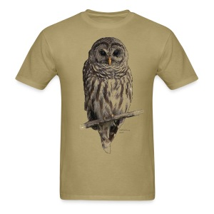 Barred Owl 4757_for_white - Men's T-Shirt