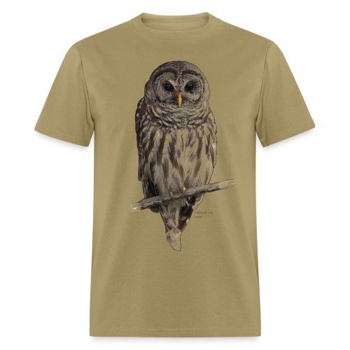 Barred Owl 4757_for_white - Men's T-Shirt