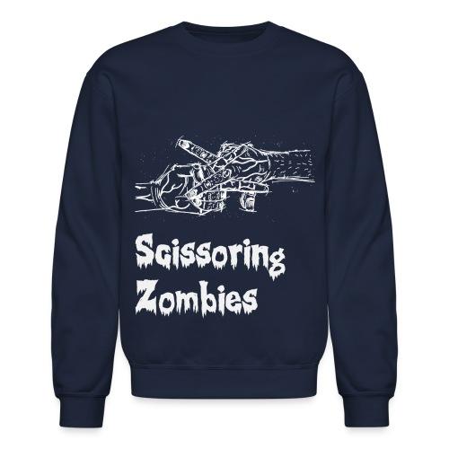 Scissoring Zombies Sweater - Crewneck Sweatshirt