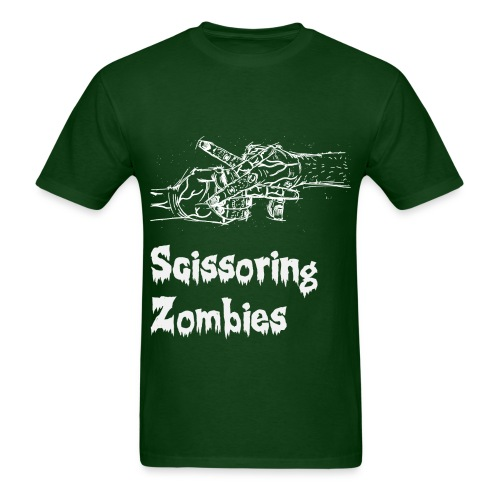 Scissoring Zombies 2 White - Men's T-Shirt